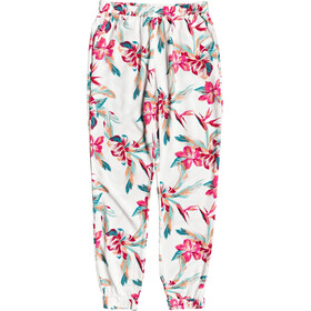 Roxy Easy Peasy Pants Women bright white tropic call s